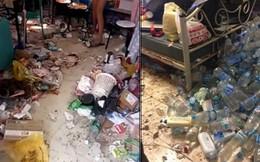 Khiếp hãi với những phòng ký túc bẩn thỉu bừa bộn của sinh viên: Ăn chung, ngủ chung với rác!