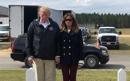 Bức ảnh làm rộ nghi vấn Đệ nhất phu nhân Mỹ dùng thế thân