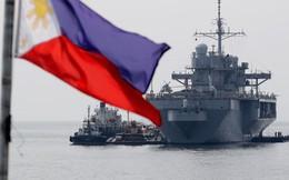 Soái hạm nào của Mỹ vừa tới Philippines sau khi đối mặt Trung Quốc ở Biển Đông?