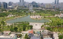 Đề xuất xây bãi đỗ xe ngầm ở Công viên Cầu Giấy