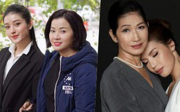 Nhan sắc mẹ mỹ nhân Việt: Người bị lầm tưởng chị em ruột vì quá trẻ, người xinh đẹp không kém gì con gái