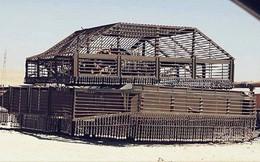 """Những chiếc xe tăng T-72 được """"độ chế"""" vỏ giáp siêu độc đáo của Quân đội Syria"""
