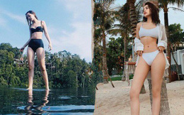 Chi Pu khoe ảnh diện bikini, body thay đổi đến bất ngờ khi đặt cạnh hình ảnh từ 2 năm trước