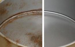 Chỉ với 20 nghìn đồng và 5 phút thực hiện, bạn đã có thể làm sạch đồ dùng bằng kim loại một cách nhanh chóng và dễ dàng
