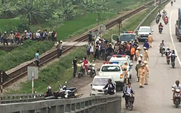 Tai nạn thương tâm ở Hải Dương: Hai phụ nữ bị đoàn tàu khách đâm tử vong