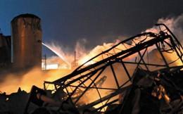 Nổ nhà máy hóa chất của quân đội Ai Cập