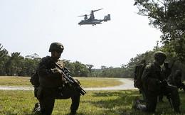 Lính thủy đánh bộ Mỹ diễn tập đánh chiếm đảo nhỏ để làm gì?