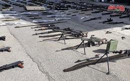 """Quân đội Syria lại thu hoạch một kho vũ khí của """"nổi dậy"""" ở miền bắc Homs"""