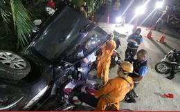 Ô tô lao khỏi bãi đậu xe tầng 8, người phụ nữ may mắn thoát nạn