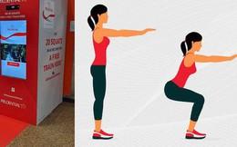 Sướng như dân Singapore: Vừa có sức khỏe vừa được đi tàu điện ngầm miễn phí chỉ với 20 lần squat