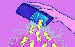 Tại sao smartphone thường không thiết kế với pin có thể tháo rời?
