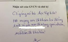 Chuyên đi vệ sinh để trốn kiểm tra miệng, cô giáo phê một câu khiến học sinh vừa buồn cười vừa chừa đến già