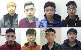 """""""Điểm mặt"""" 8 """"quái xế"""" lạng lách, đánh võng mừng đêm chiến thắng của tuyển U23 Việt Nam"""