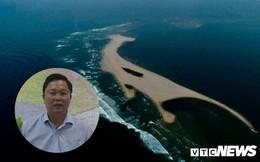 Quảng Nam cắm biển báo tại đảo cát dài 3 cây số nổi lên giữa biển Hội An
