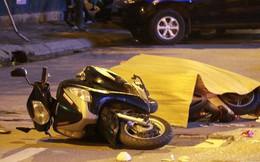 Thanh sắt rơi từ chung cư cao tầng ở Hà Nội khiến 2 người bị thương