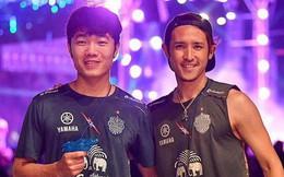 Xuân Trường và các đồng đội quẩy tưng bừng trong lễ hội té nước hoành tráng tại Thái Lan