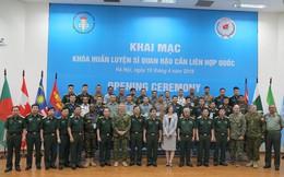 Huấn luyện sỹ quan hậu cần Liên hợp quốc tại Việt Nam