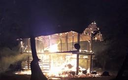 Gia Lai: 5 cháu bé vùng chạy khỏi căn nhà đang cháy, 1 bé bị chết cháy