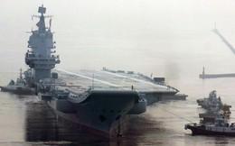 Trung Quốc lần đầu hé lộ hình ảnh chi tiết của tàu sân bay tự đóng