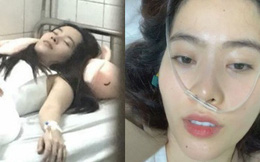 Nhập viện giữa đêm, mũi đeo máy thở mà Nam Em vẫn còn tâm trí livestream kêu gọi dân mạng yêu thương mình