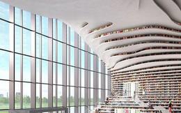 Choáng ngợp với vẻ đẹp của thư viện 'quốc dân' lớn nhất Trung Quốc: Hoành tráng đến mức nhìn không thua gì phim trường!