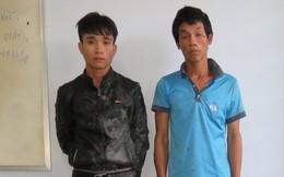 Truy bắt nóng hai kẻ chém người, cướp xe máy