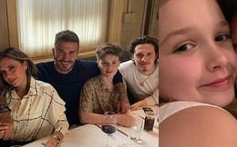 David Beckham và gia đình đón sinh nhật ấm cúng, nhan sắc xinh đẹp của bé út Harper Beckham đặc biệt gây chú ý