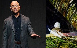 Jeff Bezos biến Mặt trăng thành 'nhà' của hàng tỷ người