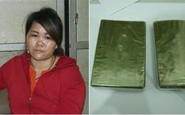 Người phụ nữ vận chuyển 2 bánh heroin lấy 20 triệu đồng