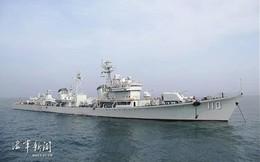 Quân đội Trung Quốc loại biên 4 tàu khu trục tên lửa