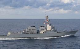 Tàu khu trục Mỹ đến gần bãi cạn do Trung Quốc kiểm soát ở biển Đông