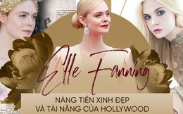 """""""Giám khảo trẻ nhất lịch sử Cannes"""" Elle Fanning: Đẹp vô thực, từ bóng của chị gái thành """"cô tiên nước Mỹ"""" quyền lực"""