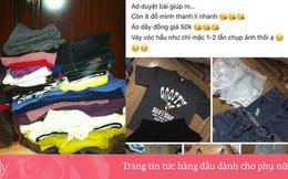 Quyên góp quần áo cũ cho người nghèo, 2 gái xinh không mang tặng mà lại đem thanh lý?