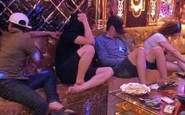 """Hàng chục nam nữ thanh niên """"phê"""" ma túy trong karaoke Sao Biển VIP"""