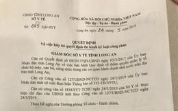 """Chuyện lạ ở Long An: Một cán bộ đòi """"được"""" kỷ luật"""