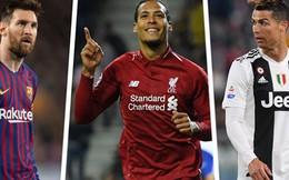Messi, Ronaldo hay Virgil van Dijk sẽ giành Quả bóng Vàng 2019?