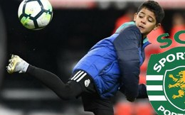 Con trai Cristiano Ronaldo được CLB cũ của cha mời ký hợp đồng