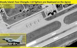 CNN: Trung Quốc điều động trái phép 4 tiêm kích J-10 ra quần đảo Hoàng Sa