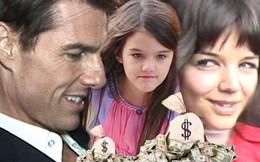 Katie Holmes không nhận được đồng nào từ Tom Cruise