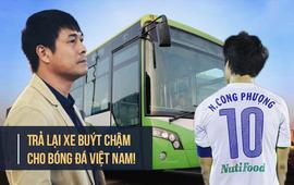 Xe buýt nhanh chẳng kéo nổi một nền bóng đá ì ạch