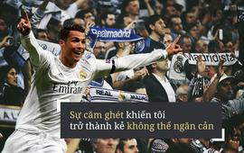 """Cristiano Ronaldo: Vươn tới sự vĩ đại nhờ tiếng huýt sáo của... """"người nhà"""""""