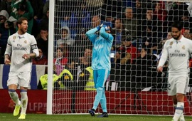 Zidane đau đầu khi Navas tiếp tục mắc sai lầm