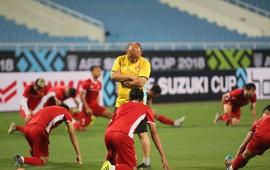 """Tuyển Việt Nam luyện """"chiêu tủ"""" chờ đấu Malaysia ở Mỹ Đình"""