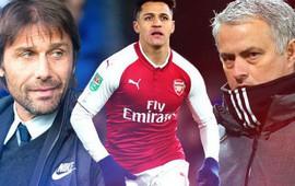 Chelsea lên kế hoạch 'cướp trên không' Alexis Sanchez khi cầu thủ này trên đường đến Old Trafford