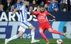 """Benzema """"nổ súng"""", Real vẫn chia điểm với Leganes"""