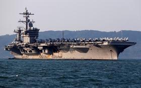 tàu sân bay Mỹ thăm việt nam