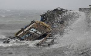 Sức tàn phá khủng khiếp của siêu bão mạnh nhất hành tinh