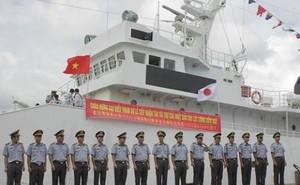 Trung Quốc đo sức mạnh tàu tuần tra Nhật tặng Việt Nam