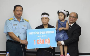 Ông Lê Thanh Thản tặng nhà cho gia đình phi công Trần Quang Khải
