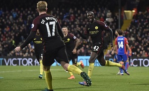 Crystal Palace 1 – 2 Man City